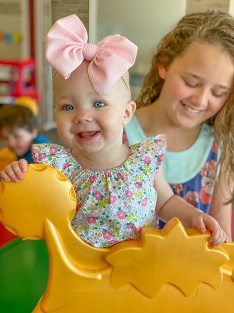 Playtown Benton - kids smiling home page header